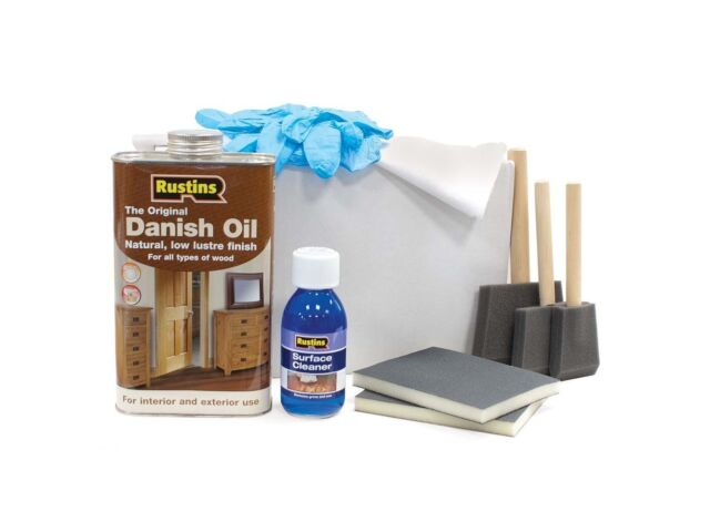 Details About Rustins Solid Wood Worktop Kit Danish Oil Surface Cleaner Maintenance