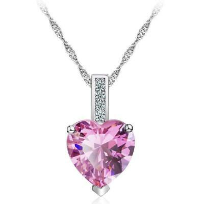 Pink Crystal Heart (Pink Crystal Heart Pendant)