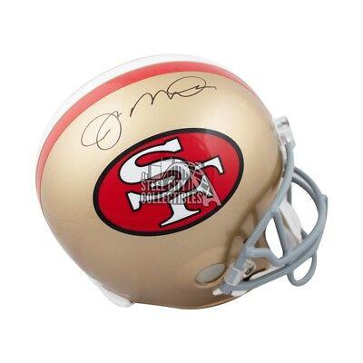 64f47d64e6f Joe Montana Autographed San Francisco 49ers Full-Size Football Helmet - JSA  COA