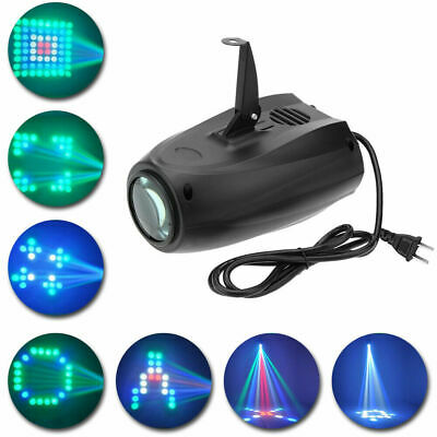 Music Activated Led (Music Active RGBW LED Lights Laser Stage Effect Lighting Club Disco DJ Party)