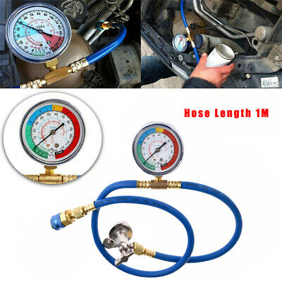 Diagnostic Air Conditioning Tube Gauge Refrigeration Air Con Accessory