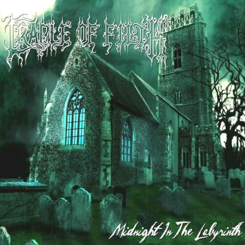 Cradle Of Filth Midnight In The Labyrinth 12x12 Album Cover Replica Poster Print