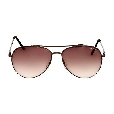 Kenneth Cole Reaction Metal Frame Gradient Brown Lens Men's (Kenneth Cole Reaction Men's Sunglasses)
