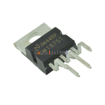 5pcs Ic Lm1875t Amp Audio Pwr 30w Ab To220-5 New
