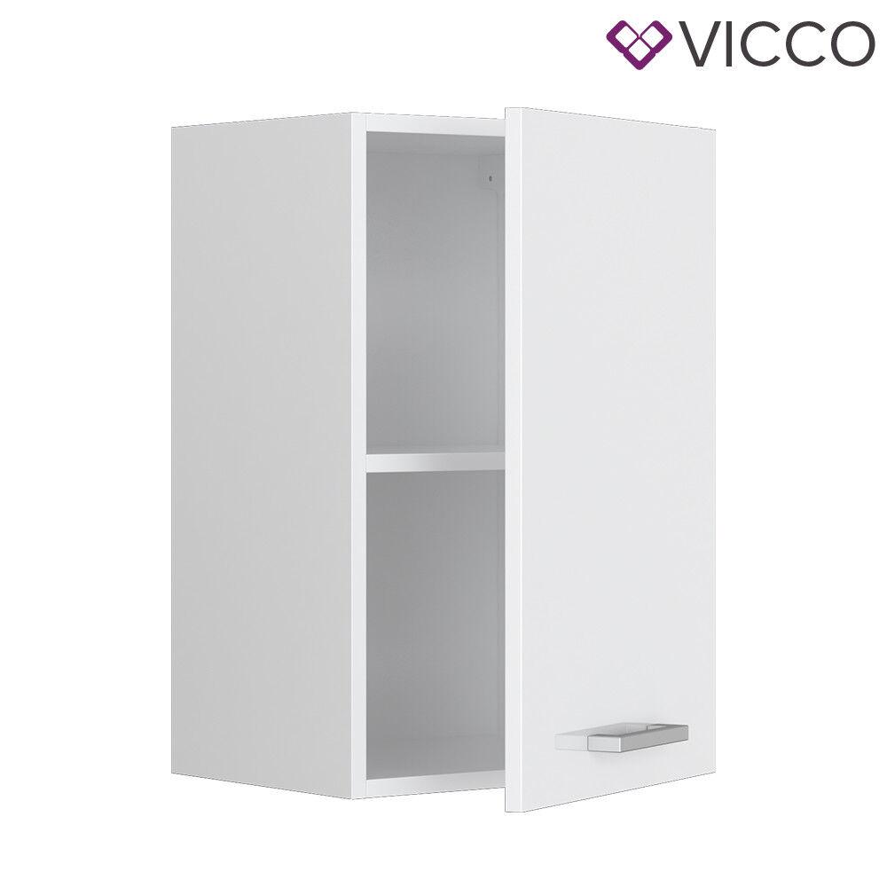 VICCO Küchenschrank Hängeschrank Unterschrank Küchenzeile R-Line Hängeschrank 40 cm weiß