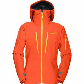 Norrona Lofoten Gore-Tex Pro Jacket Ski ORANGE size M