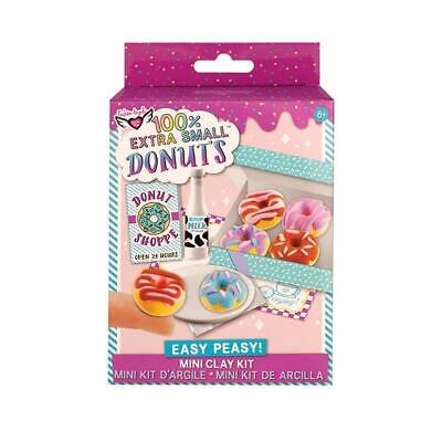 100% Extra Small Mini Clay Kit: Donuts