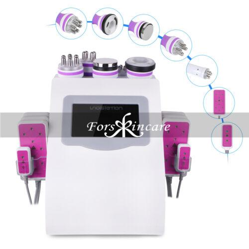6in1 Ultrasonic Cavitation RF Radio Frequency Vacuum Slimming Machine