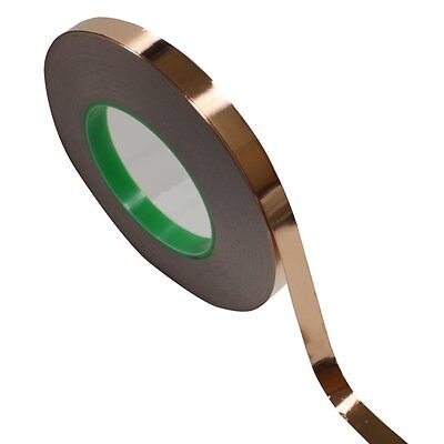 12 X 55 Yds12mmx50m Copper Foil Tape Non-conductive Adhesive Ship From Usa