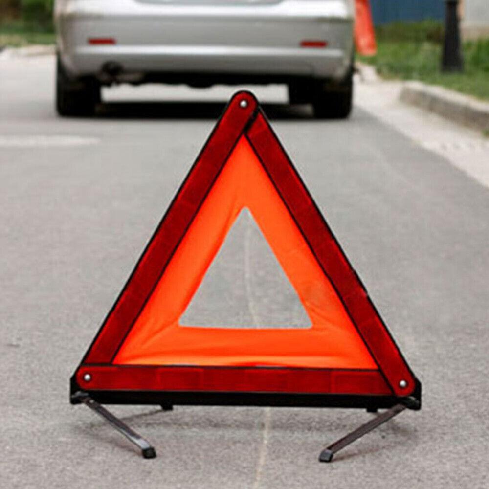 WARNDREIECK MINI MIT METALLUNTERBAU WARNING TRIANGLE