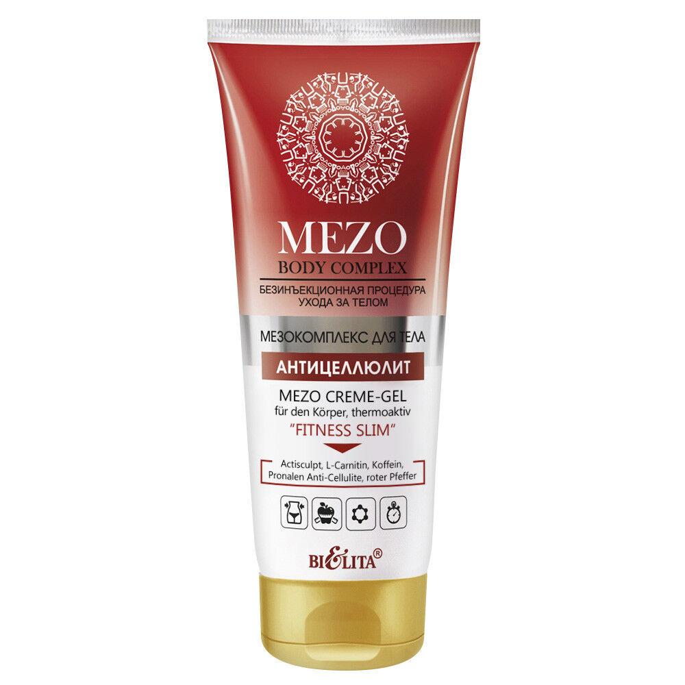 MEZO Anti-Cellulite Thermo Creme-Gel FITNESS SLIM / straffende Hot Creme 200ml