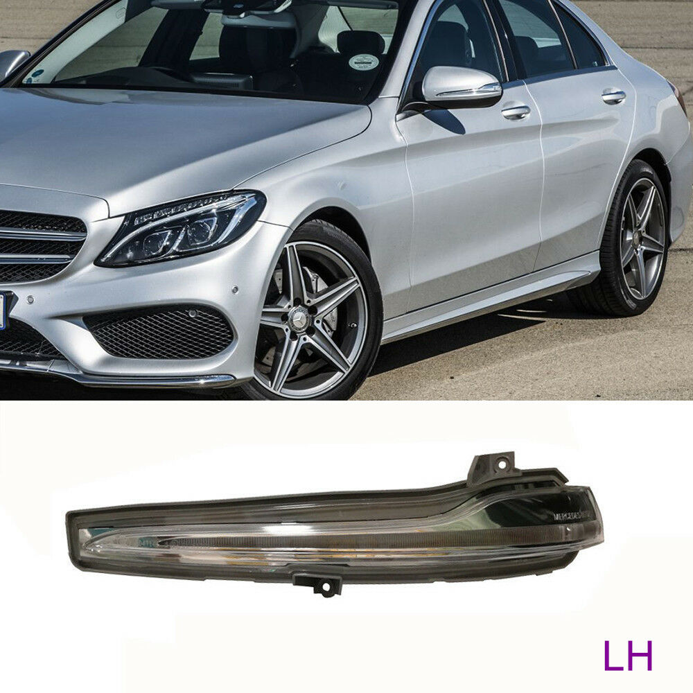 Details about For Mercedes-Benz W205 W222 W217 - Left Mirror Indicator Turn  Signal LED Light