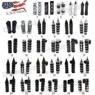 Motorcycle 1'' Handlebar Hand Grips for Harley-Davidson Sportster XL1200 883 US