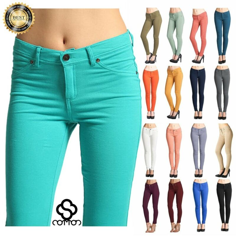 Women Skinny Jeggings Stretchy Denim Pants Leggings Jeans Pe