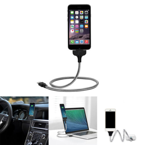 Lazy Stand Up USB Charging Cable Flexible Phone Stand Holder For Android DL5X - $7.91