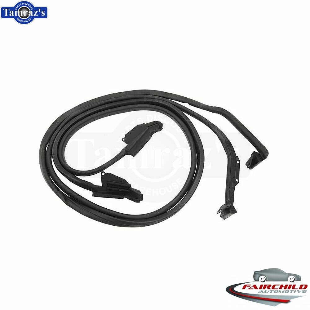 1973-77 Early Corvette Coupe Body Weatherstrip Kit NEW SAVE