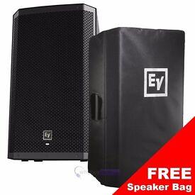 "Electro-Voice ZLX12P 12"" 1000 Watt Active Powered PA Speaker"