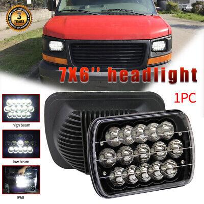 "7x6"" LED Headlight Hi/Lo sealed Beam DRL For GMC Savana Express 1500 2500 3500"