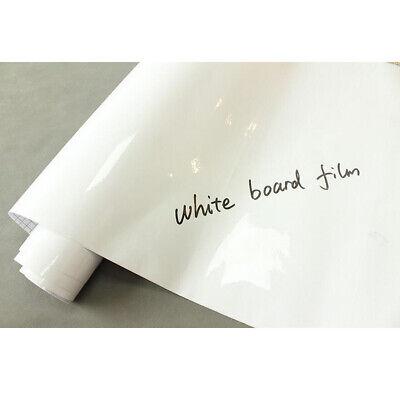 Removable Whiteboard Writing Film Dry Wipe Board Office Home School Wall Sticker