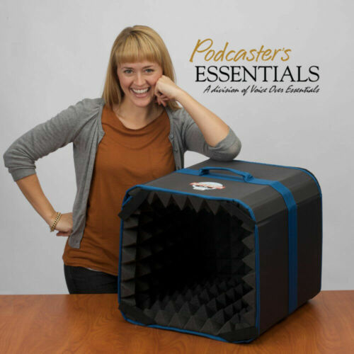 Podcasters Voice Over Essentials Harlan Hogan Genuine Porta-Booth Plus#Z10B1