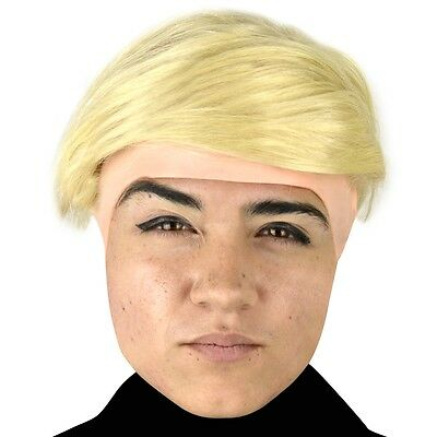 Donald Trump Child Headpiece with Wig, Comical, Funny, Cool Kids Accessory](Donald Trump Wigs)