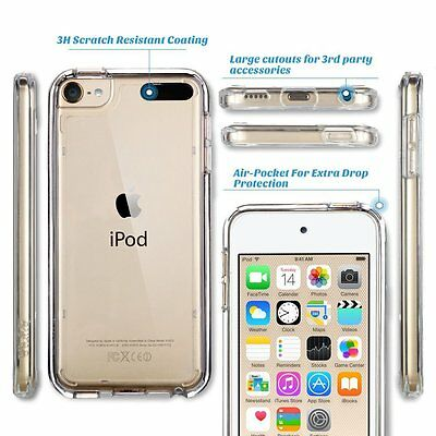 Clear Silicone Gel Case & Screen Guard For iPod Touch 5 5th Generation Gen  Ipod Screen Guard