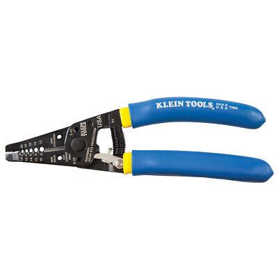 Klein Tools 11055 Klein-kurve Wire Strippercutter Blue W Yellow Stripe