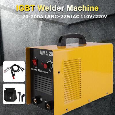 110v 220a Mini Electric Welding Machine Igbt Dc Inverter Arc Mma Stick Welder Us