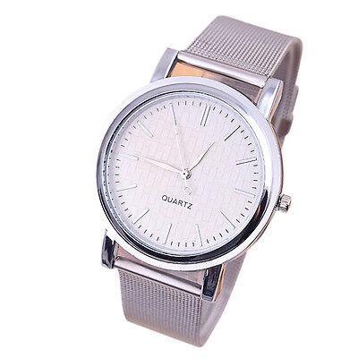 New Classic Womens Stainless Steel Analog Quartz Watch Lady style  Wrist Watch