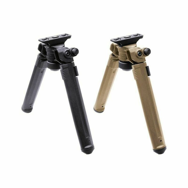 Magpul Adjustable Bipod M-LOK Lightweight Aluminum and Polymer MAG933 Made in US