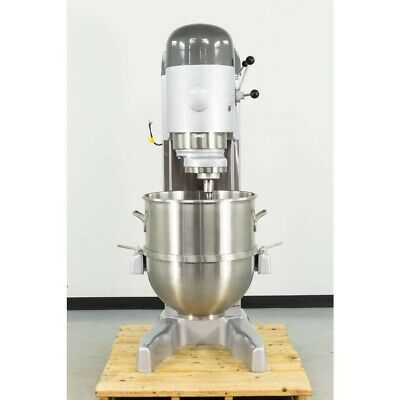 Hobart 140 Qt V-1401mixer 5 Hp With Stainless Steel Bowl And Tools