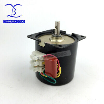 110v High Torque Low Speed Ac Synchronous Motor 2.5-100rpm Low Noise Gear Motor
