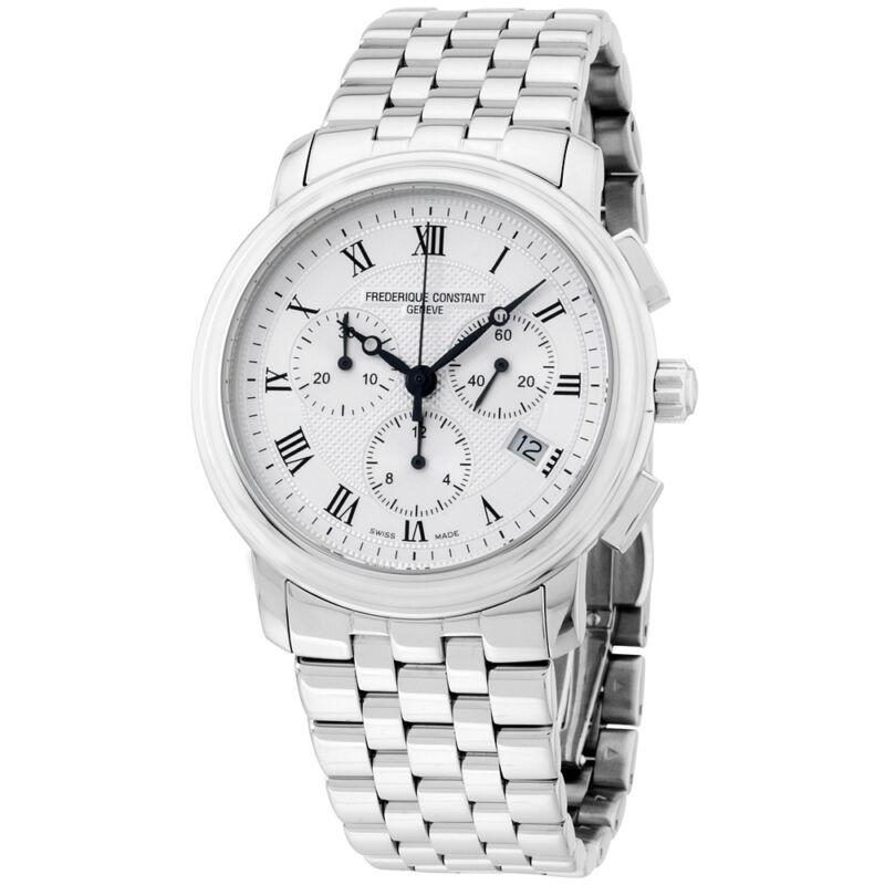 Frederique Constant Men's FC292MC4P6B2 Classics   Swiss Quartz Silver Watch - watch picture 1