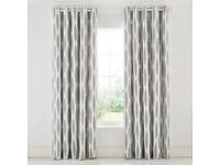 Scion Usuko Lined Curtains Rose, 100% COTTON PANAMA, 66x90 inches/(W)168X(D)229 cm
