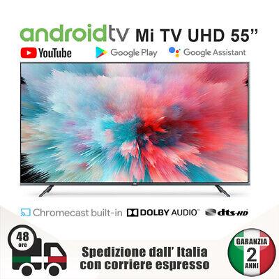 Xiaomi TV 4S UHD 55'' Televisore Smart Android 4K Vocal Control Bluetooth WiFi