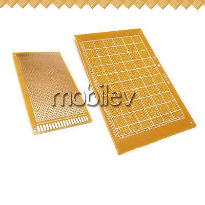 20 Breadboard Prototype Pcb Print Circuit Board 9 X 15cm Brown Diy