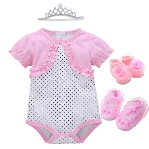 newborn baby girl infant playsuit bodysuit clothes