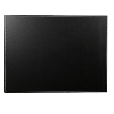 24 X 18 Pu Leather Desk Pad Protector Laptop Mat Desk Mouse Pad Black Large