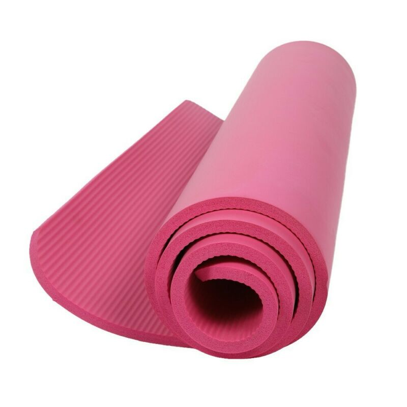 Yoga Mat Thick Non-slip Durable Exercise Fitness Gym Extra