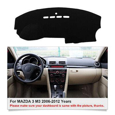 Car Dashboard Mat Dashmat Carpet Sun Shade Cover For MAZDA 3 M3 2006-2012 Years