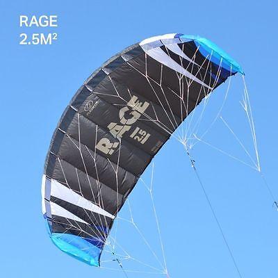 VIRTUALLY BRAND NEW Flexifoil 2.5m2 Rage Power Kite (Kite Only)