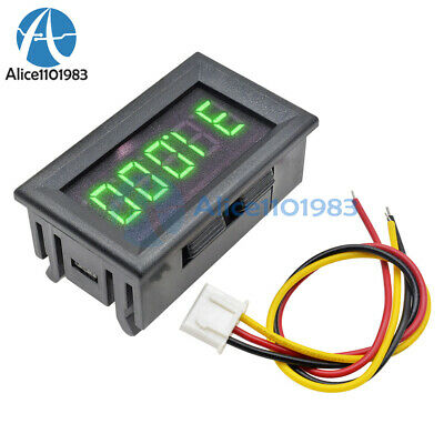 Green 0.36 Led 5 Digit Dc 0-33.000v Digital Voltmeter Voltage Meter Car Panel