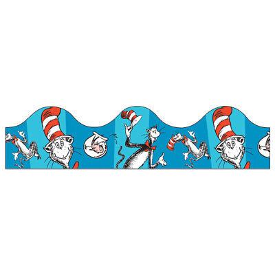 EU 845017 Cat in the Hat Dr. Seuss Bulletin Board Trimmer Classroom