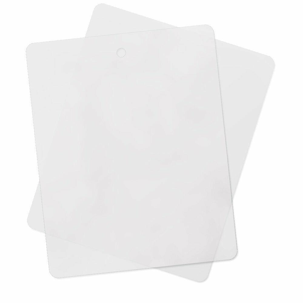 4pk - Flexible Plastic Kitchen Cutting Board 12 Inch x 15 In