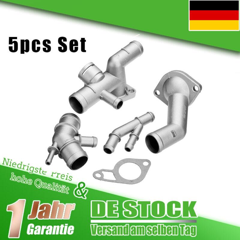 Kühlmittelflansch Wasserflansch Alu Für VW MK4 Golf T5 Skoda 1.8T Für Audi DE