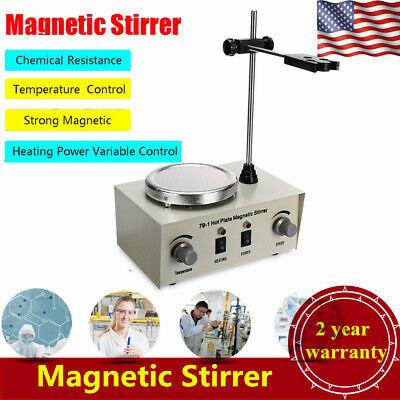 79-1 Hot Plate Magnetic Stirrer Mixer Stirring Lab 1l Dual Control 0-2400rmin
