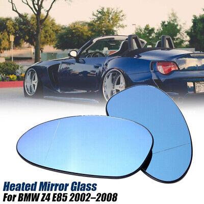 Außenspiegel Spiegelglas Ersatzglas Bmw Z4 Links o Rechts asph Kpl beheizt Blau