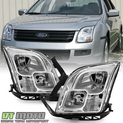 2006 2009 Ford Fusion Headlights Headlamps Replacement 06 07 08 09 LeftRight