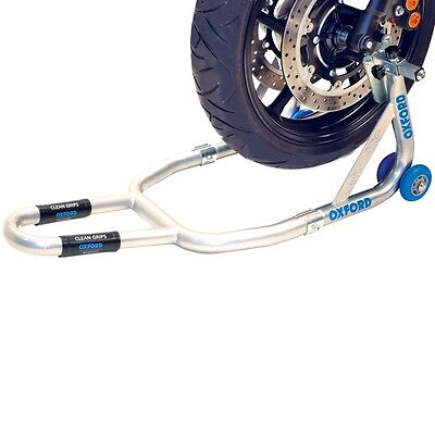 Oxford Motorcycle Motorbike HD Premium Compact Front Paddock Stand Torsional