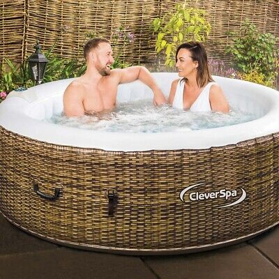 CleverSpa Borneo 4 Person Hot Tub Brand New Inflatable Spa